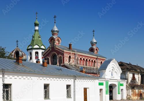 Fotografie, Obraz  Old Ladoga Nikolsky monastery , presumably 13th century