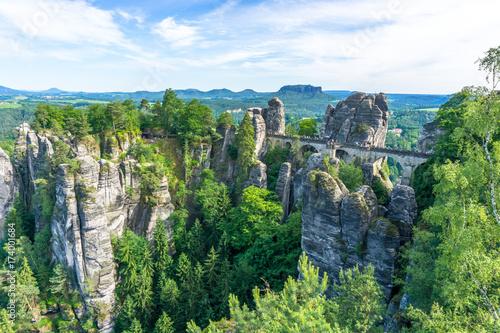 obraz PCV Basteibrücke Sächsische Schweiz