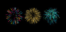 Colorful Graphic Firework Expl...