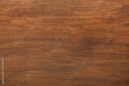 Fotomural  Brown wood texture and background.