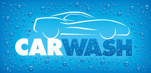 Car Wash Concept With Many Wat...