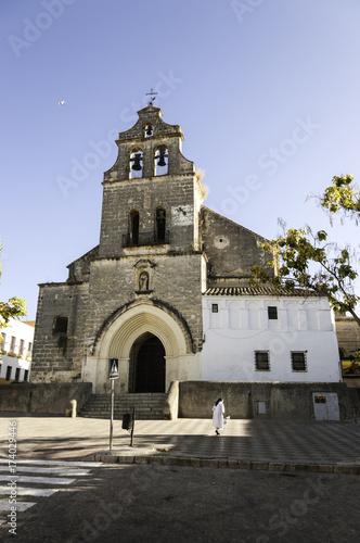 Obraz na plátně Iglesia de San Lucas de estilo mudejar en Jerez de la Frontera, Cadiz
