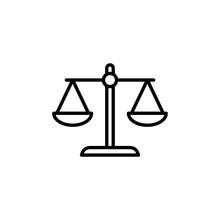 Libra Line Icon