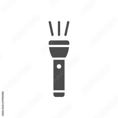 Obraz Flashlight icon - fototapety do salonu