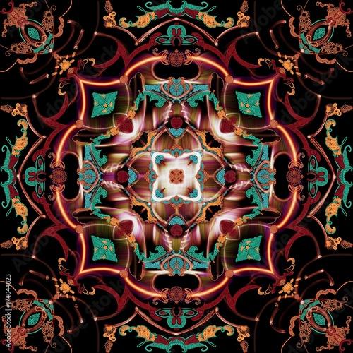 Plakat Mandala - kalejdokop