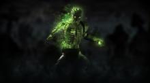 Zombie Necromancer Character