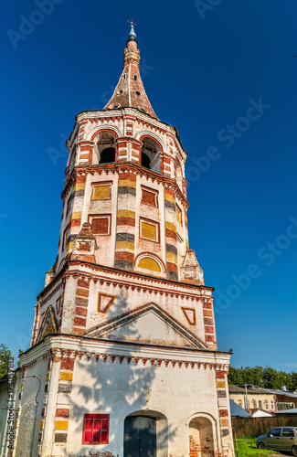 St. Antipas Church in Suzdal, Russia Canvas Print