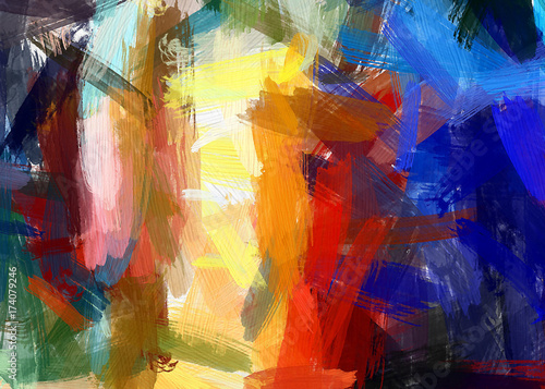 Zdjęcie XXL Streszczenie tekstura. Kwiatowy tło. Malowane na płótnie akwarela grafika grunge. Cyfrowe ręcznie rysowane sztuki. Współczesna twórczość artystyczna. Dobry do wydrukowanych zdjęć, pocztówek, plakatów i tapet.