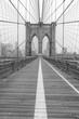 Brooklyn Bridge Foggy Morning