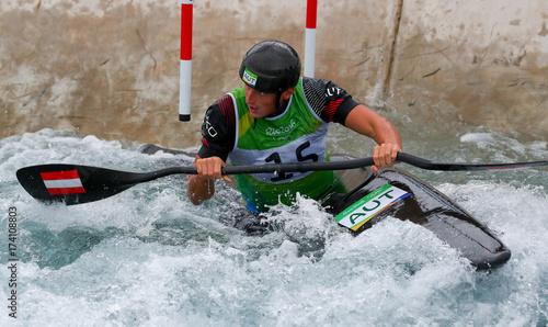 Olympics: Canoe Slalom-Men's K1 Kayak - Buy this stock photo and
