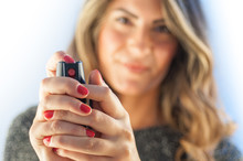 Red Pepper Spray For Girl Security