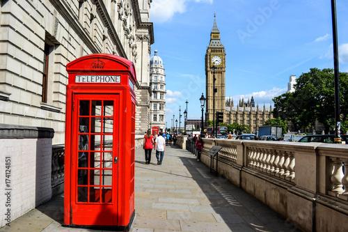 Poster Londres ロンドン