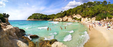 Cala Mitjana, Menorca, Baleari...