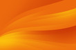 canvas print picture - Abstract orange background with smooth lines, futuristic design.