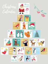 Christmas Advent Calendar. Win...