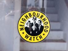 Neighbourhood Watch Sign Yello...
