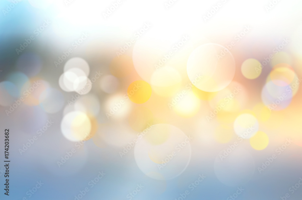 Fototapety, obrazy: Sunset blurred background.Abstract illustration.