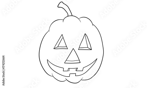 Kurbis Halloween Ausmalbild Buy This Stock Vector And Explore