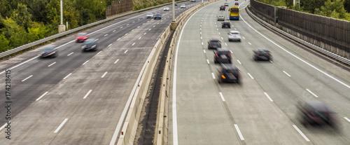 Zdjęcie XXL ruchliwie autostrada