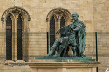 Statue Of Roman Emperor Constantine The Great