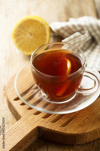Zdjęcie XXL Herbata z cytryną