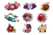 Nine Different Female Handmade...