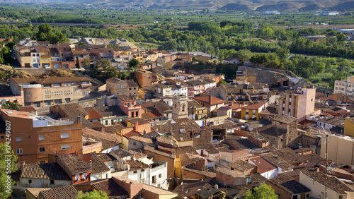 old town of Fraga, Spain