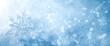 Leinwanddruck Bild - Winter snow background