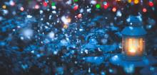 Christmas Lantern And Lights