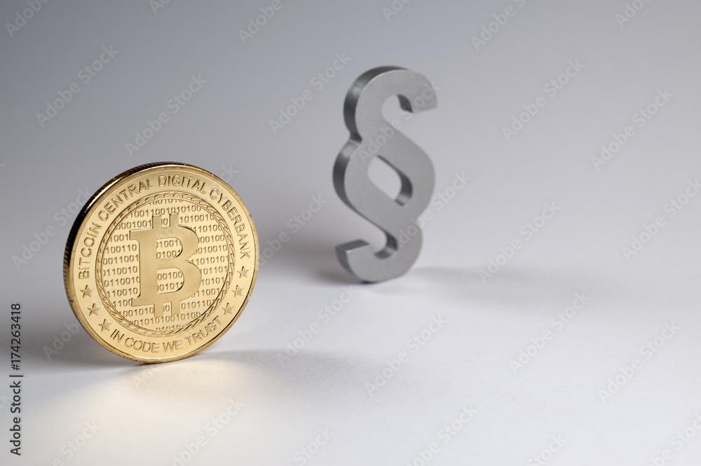 Bitcoin, Zahlungsmittel, Währung, Geld, Münze, Paragraph ...