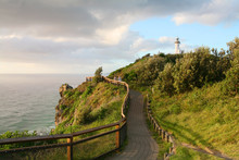The Byron Bay Lighthouse Sits ...