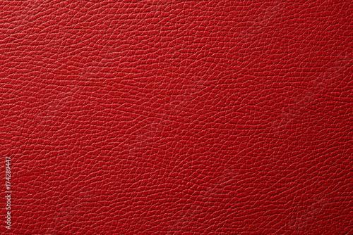 red leather texture background © qwasder1987