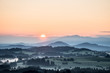 Bavarian Countryside at Sunrise