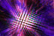 Purple Lightbeam Background