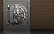 3d metal safe vault door