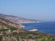 Widok na piękne skaliste wybrzeże greckiej wyspy Thassos