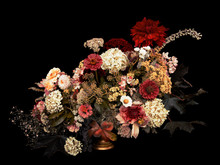 Floral Arrangement, Autumn Bou...