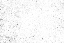 Distressed Halftone Grunge Black And White Vector Texture -texture Of Concrete Floor Background For Creation Abstract Vintage Effect With Noise And Grain