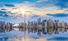 Toronto Skyline From Ontario L...