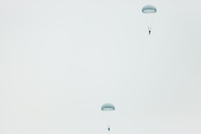 Two Parachutists (skydivers) F...