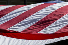 Close-up Of An American Flag I...