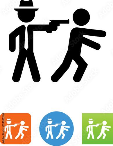 Photo Assassinate Icon - Illustration