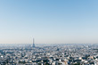 Cityscape of Eifel Tower and Paris at daytime