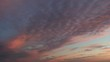 Clouds at sunrise time-lapse 3