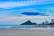 Cloudy Day at a beach in Thailand
