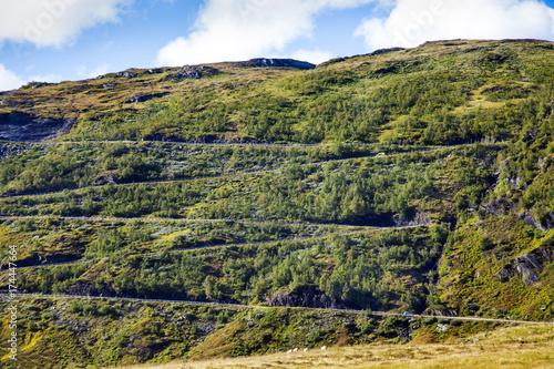 Keuken foto achterwand Noord Europa Bergpass, Norwegen