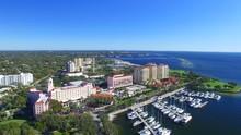 St Petersburg, FL. Aerial View...