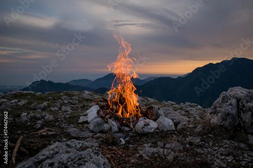 Obraz Great Flame - fototapety do salonu