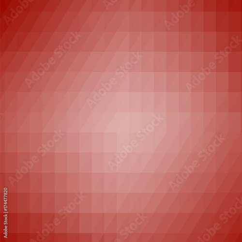 Abstract Red Modern Mosaic Pattern Buy This Stock Vector