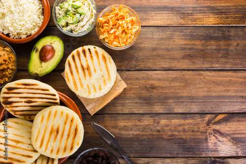 Venezuelan typical food, Arepas